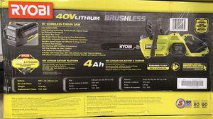 Ryobi 40 volt chainsaw kit for Sale in Hewitt, TX