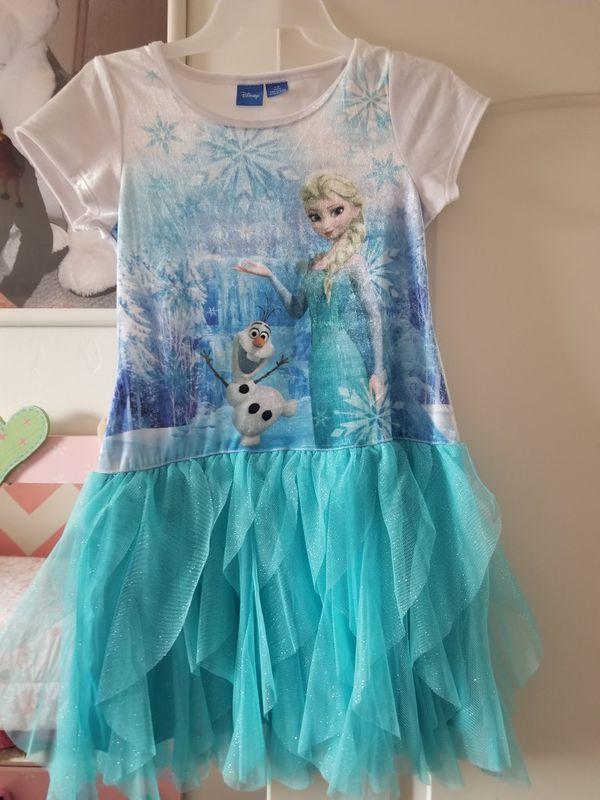 Elsa dress L/G 10/12