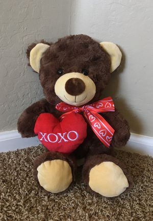 Valentine's Day Bear Stuffed Animal for Sale in Surprise, AZ