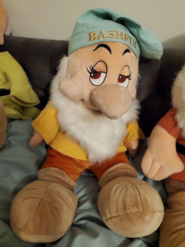 Disney 7 dwarfs plush dolls - Large