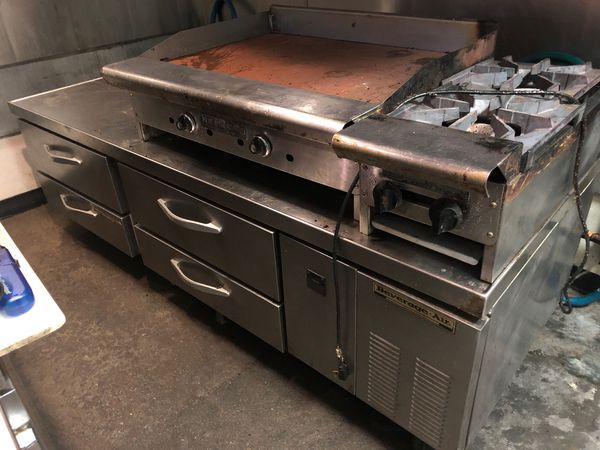 Stainless cooking line