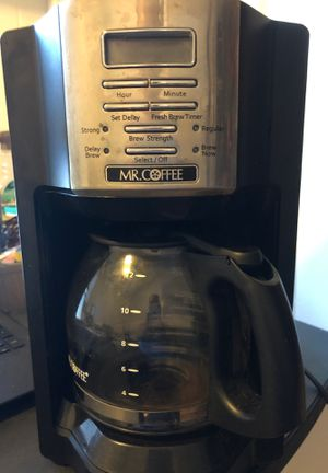 Mr. Coffee 12 cup coffee maker for Sale in Honolulu, HI