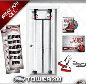 Tower 200 home gym - Adjustable resistance for Sale in Philadelphia, PA