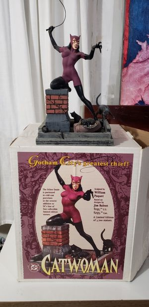 Catwoman statue for Sale in Snellville, GA