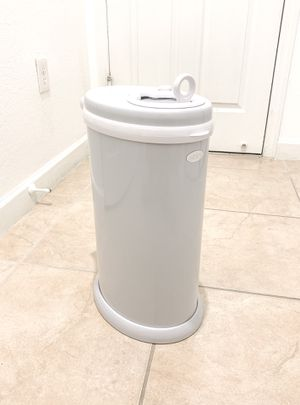 Ubbi Diaper Pail in Grey with Bags for Baby Nursery for Sale in Miami, FL