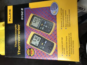 Fluke thermocouple thermometer for Sale in Laurel, MD