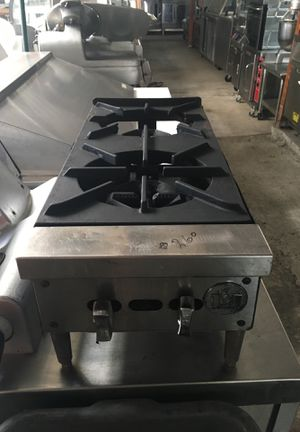 2 burner commercial stove for Sale in San Diego, CA