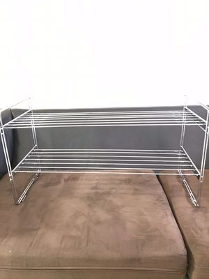 Stackable closet organizer/shoe rack for Sale in Tampa, FL