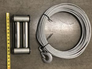 New Winch Cable and Guide for Sale in Temecula, CA