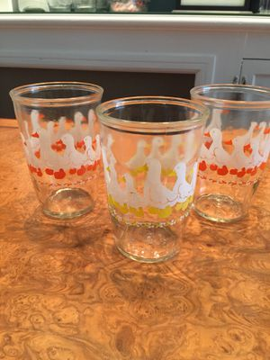 Old Jelly Jar Drinking Glasses for Sale in Philadelphia, PA