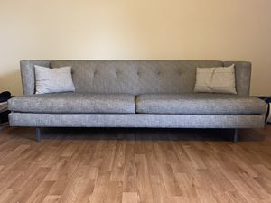 Gray Modern Couch // year old for Sale in Playa del Rey, CA