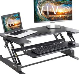 """Vivo Sit To Stand Desk Converter 36"""" Black for Sale in San Diego,  CA"""