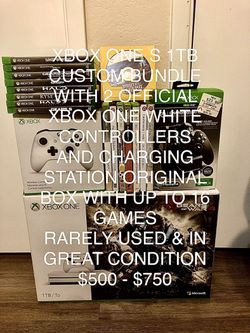 Microsoft Xbox One S 1TB Custom Bundle for Sale in Los Angeles, CA