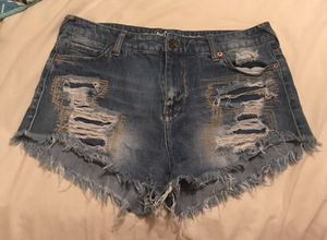 47edefd2c80 Distressed denim shorts for Sale in Ellicott City
