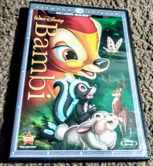 Disneys-Bambi Blu-ray (ONLY!!).. for Sale in Orlando, FL