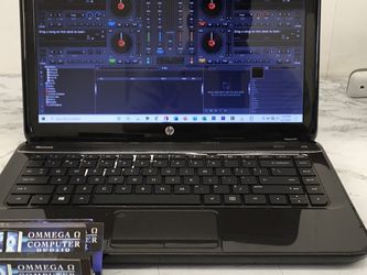 *HP PAVILION G4 NOTEBOOK w/ VIRTUAL DJ PRO VERSION 8* *Great for Office or Student.** Price $170** *Windows 10 64 bit Full Activate. *AMD A6-4400M @ for Sale in Jurupa Valley,  CA
