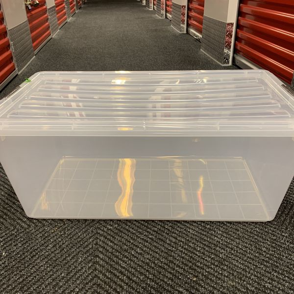 Clear Stacking Totes Container