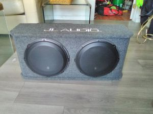 Stereo system jl audio,focal amp Alpine deck for Sale in Stockton, CA