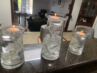 Floating candle decor for Sale in Covina,  CA
