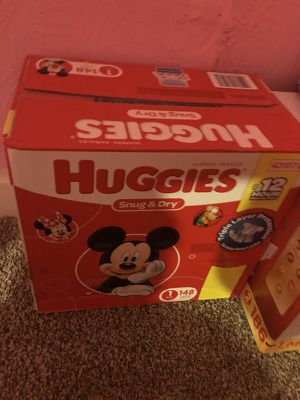 brand new box of huggies size 1 never opened for Sale in Pittsburgh, PA