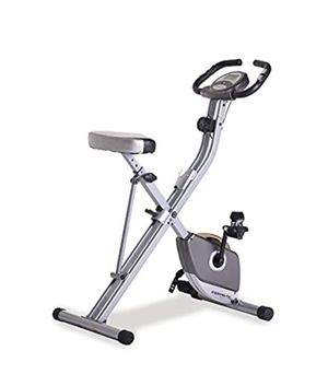 Exerpeutic Folding Magnetic Upright Exercise Bike with Pulse for Sale in Detroit, MI