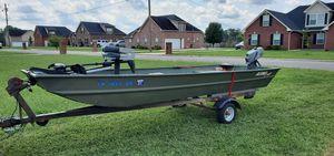 2015 14ft jon boat for Sale in Murfreesboro, TN