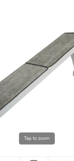 """PetSafe CozyUp White Bed Ramp for Dogs, 70"""" L X 16"""" W X 25"""" H for Sale in Las Vegas,  NV"""