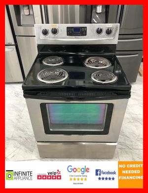 Whirlpool Electric Stove (Take it home today with only $39 DOWN. No credIt needed) for Sale in San Jose, CA