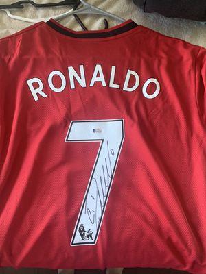 Cristiano Ronaldo signed jersey for Sale in Gardner, IL
