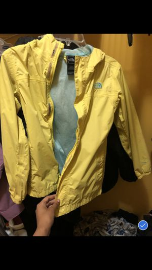 Yellow North Face Rain Jacket for Sale in Snellville, GA
