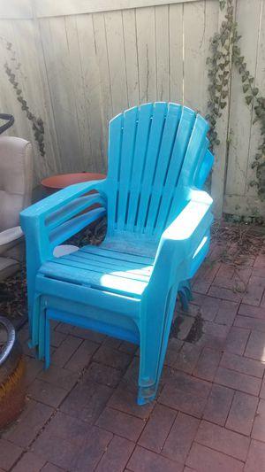 Adirondack Chairs (3) for Sale in Reston, VA