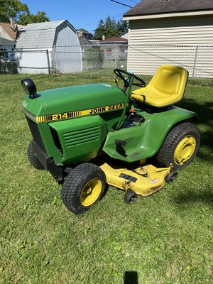 John Deere Tractor Lawn Mower for Sale in Melrose Park, IL