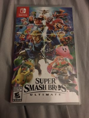 Super Smash Bros Ultimate for Nintendo Switch for Sale in Santa Ana, CA