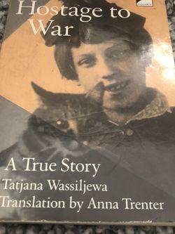 Hostage To War By Tatjana Wassiljewa for Sale in Barnhart,  MO
