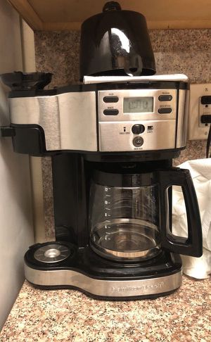 Hamilton beach coffee maker with single serve option for Sale in Sunnyvale, CA