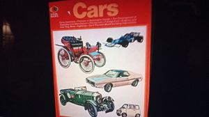 Visual books Cars by Robert Wyatt 1971 for Sale in Oshkosh, WI