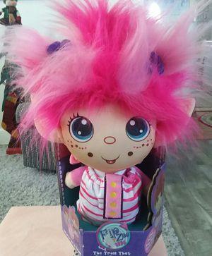 FLIP ZEE Trolls Precious Girl Pretty Pink Plush Doll Toy 3+ for Sale in Sidney, NE