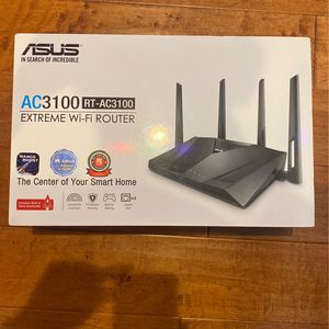 ASUS AC3100 Extreme Wifi Router for Sale in Chandler, AZ