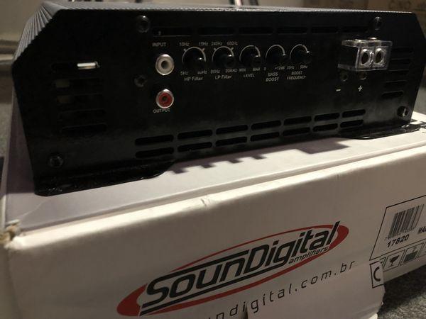 SOUNDIGITAL 5k 1 OHM MODEL for Sale in Houston, TX - OfferUp