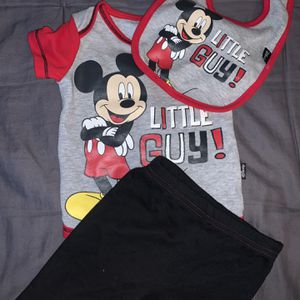 Mickey Mouse Outfit Set For Baby Boys for Sale in Washington, DC