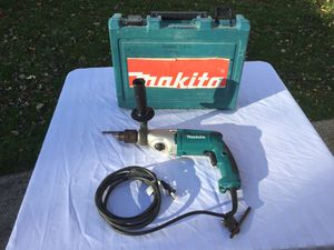 Mikita 3/4 inch 2 Speed Hammer Drill for Sale in Walton Hills, OH