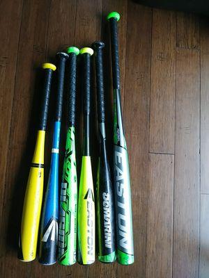 Baseball bag, glove, baseball bats, Easton, Rawlings, Demarini for Sale in Bellevue, WA
