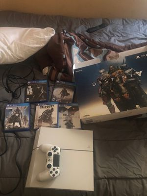 PS4 With 5 games 200 for Sale in Jacksonville, FL