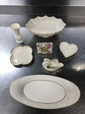 SET OF 7 LENOX ASSORTED ITEMS 100% AUTHENTIC MADE IN USA 🇺🇸 for Sale in Jessup, MD