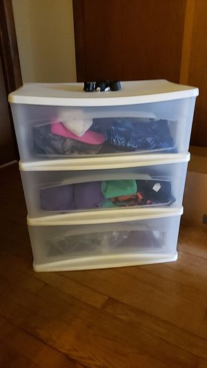 Plastic Drawer (Set of 3) for Sale in Edgewater, MD