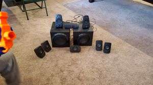 Logitech Sourond sound 9 speaker system stereo for Sale in Clayton, NC