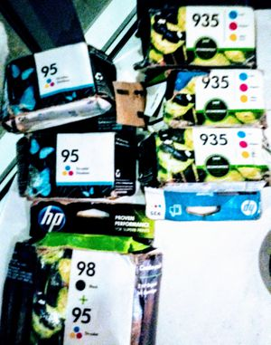 Variety pack of NP ink for printer willing to sell them individually or as a package for Sale in Portland, OR