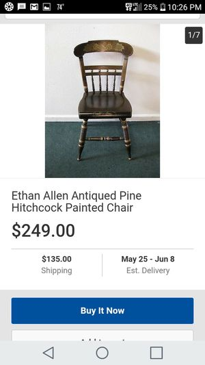 Ethan Allen Hitchcock chair for Sale in US