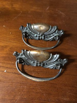 Pair of antique dresser pulls for Sale in Villa Rica, GA