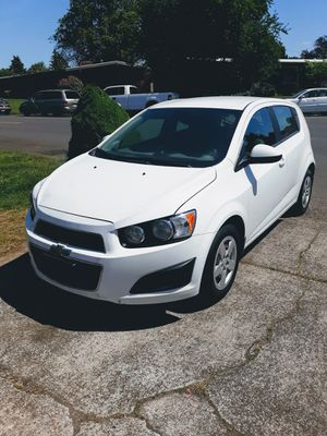 2013 Chevrolet sonic 1.8L 5 speed manual only 61K $3300 0bo for Sale in Vancouver, WA